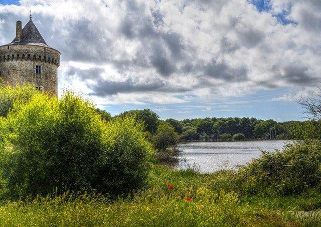 Rural Scene near Sarzeau, Brittany.