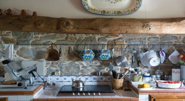 self catering farmstay kitchen