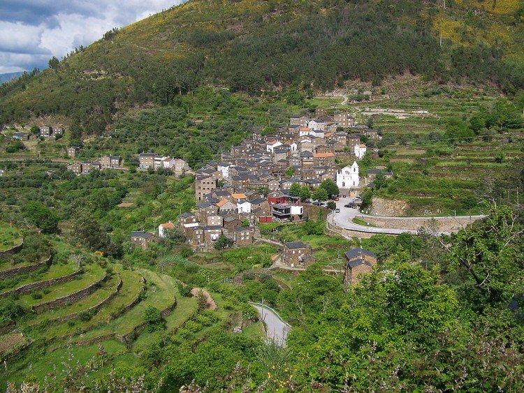 Piódão Village near Coimbra, Portugal