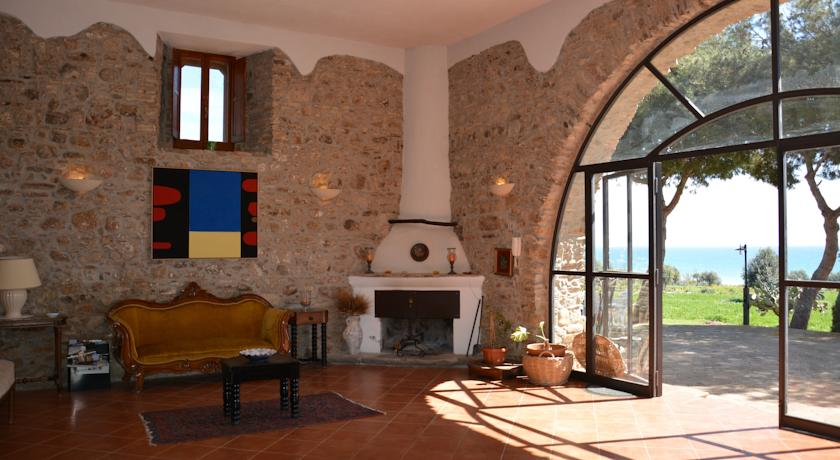 Agriturismo farm stay with sea view calabria italy for Bagno in spagnolo
