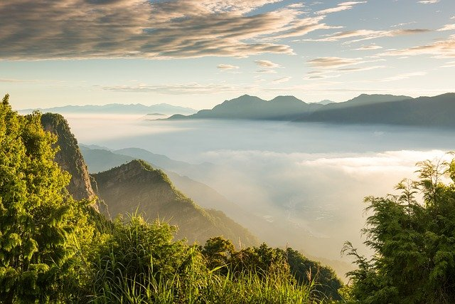 Alishan, Cnetral Taiwan