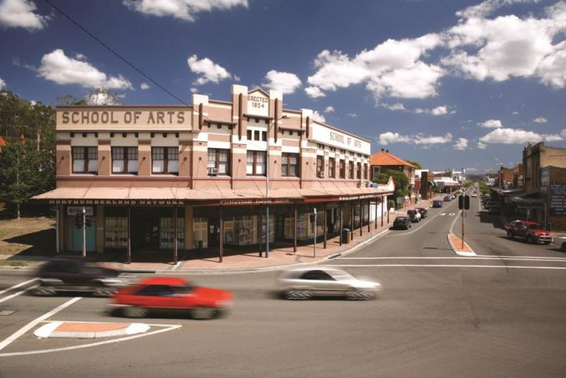 School of Arts in Cessnock, Hunter Valley, NSW.