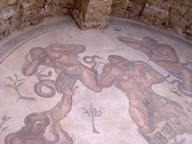 Mosaics at Piazza Armerina, Enna, Sicily