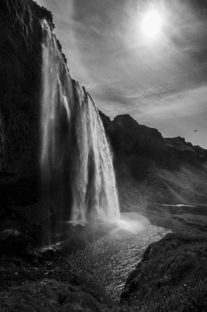 Seljalandsfoss Waterfall, Golden Circle, Iceland