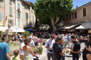Summer Lavender Festival in Valensole, Provence.