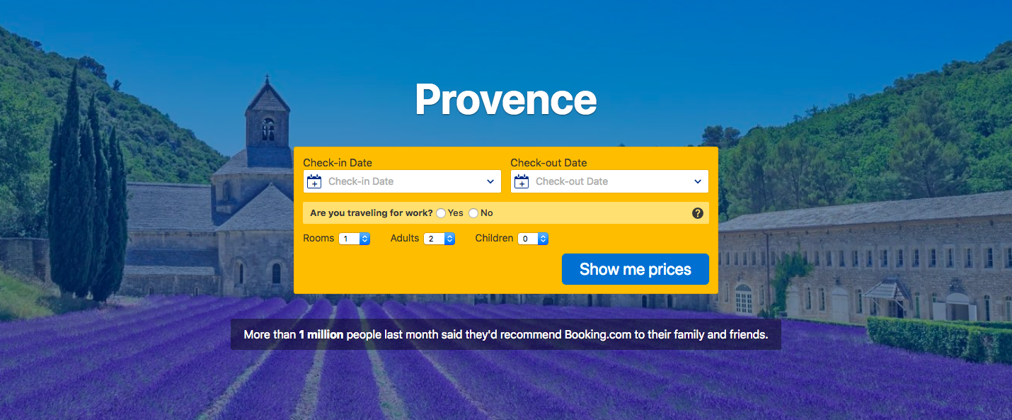 Book the best hotels in rural Provence at Booking.com.