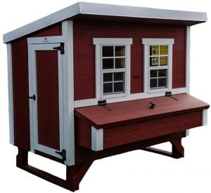 Large chicken coop for up to 15 hens.